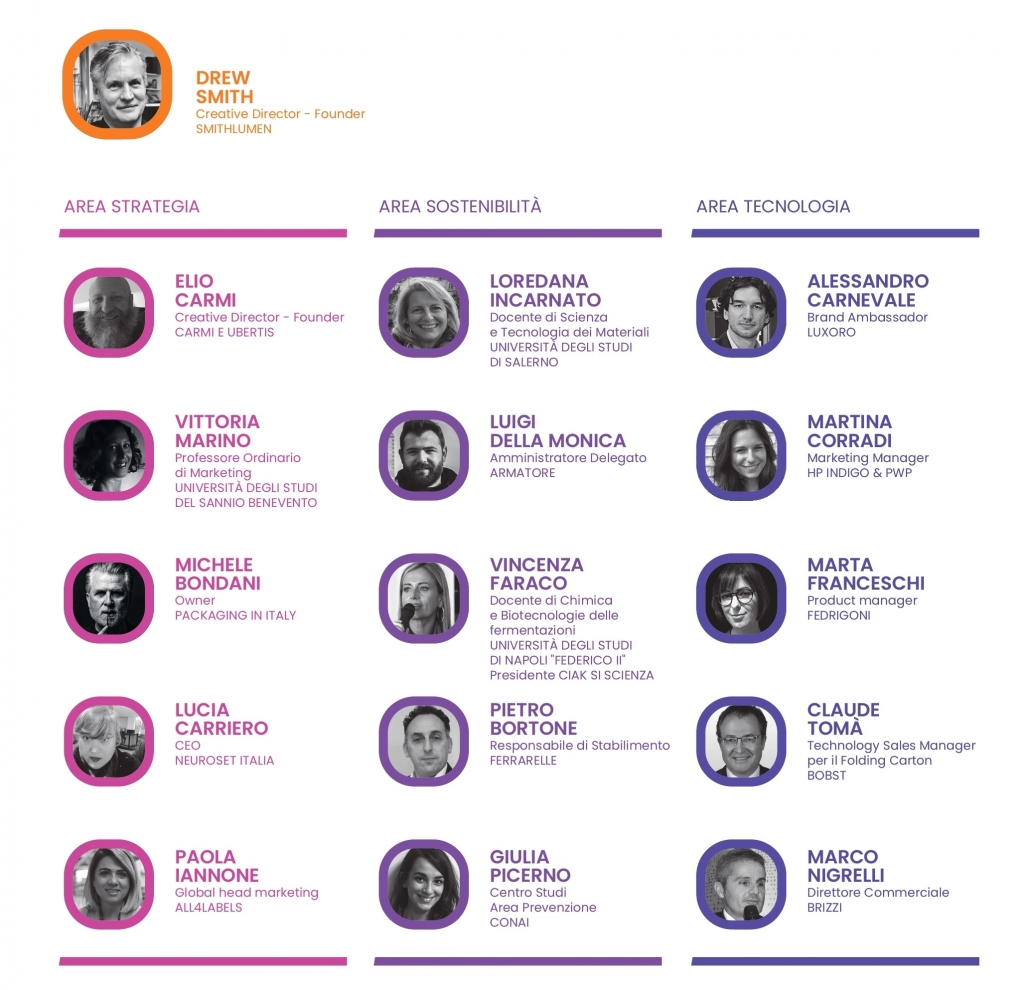 Programma speaker forum OneMorePack 10 giugno Grafica Metelliana